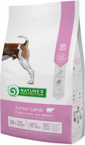 Сухой корм Nature's Protection Junior Lamb