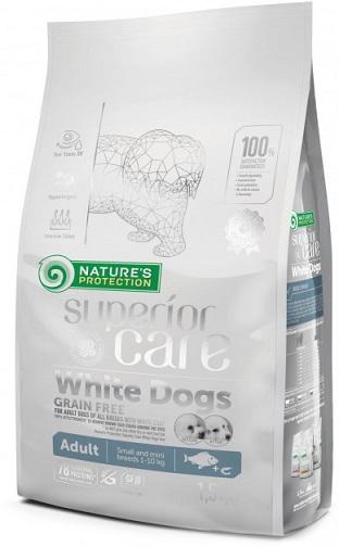 Корм для белых собак Nature's Protection