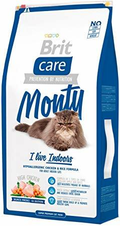 Сухой корм Brit Care (Брит Кеа) Cat Monty Living Indoor