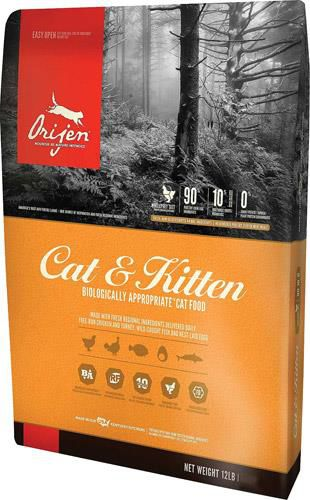 Сухой корм Orijen (Ориджен) Cat & Kitten
