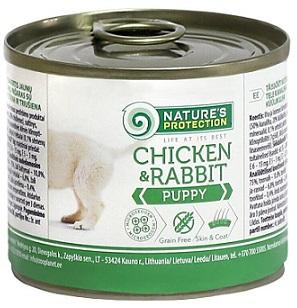 Консервы для щенков Nature s Protection купить