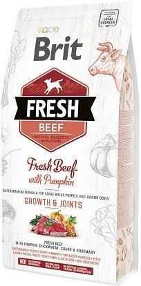 Сухой корм Brit Fresh (Брит Фреш) Puppy Large Breed Beef & Pumpkin