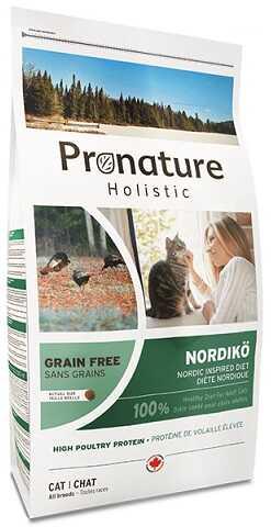 Сухой корм Pronature Holistic (Пронатюр Холистик) Nordikо Cat