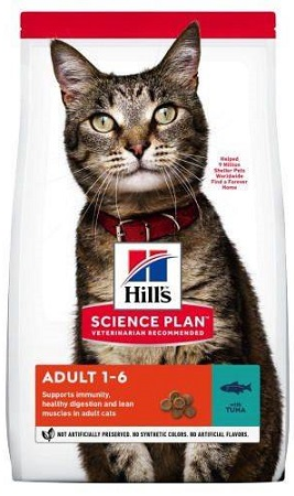 Сухой корм Hills (Хиллс) SP Feline Adult Tuna