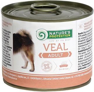КонсервыNature s Protection Adult Veal для собак купить