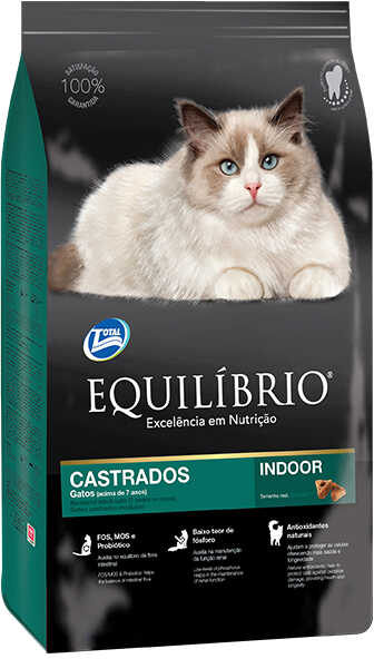 Сухой корм Equilibrio Cat Mature Castrados Indoor