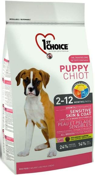 Сухой корм 1st Choice (Фест Чойс) Puppy Sensitive Skin & Coat Корм