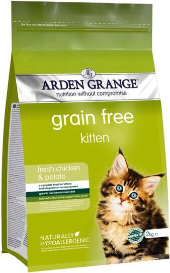 Сухой корм Arden (Арден Гранж) Grange Kitten Fresh Chicken & Potato
