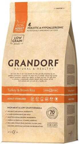Сухой корм Grandorf Sterilized Turkey & Brown Rice