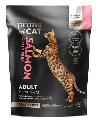 PrimaCat (ПримаКет) Grain Free Adult Salmon