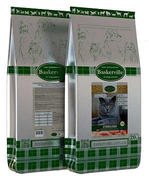 Сухой корм Baskerville (Баскервиль) Sterilised