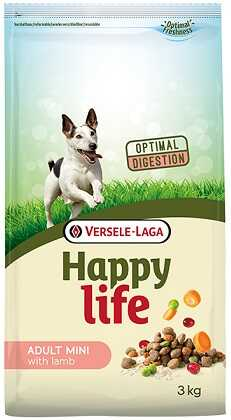 Сухой корм Happy Life Adult Mini with Lamb