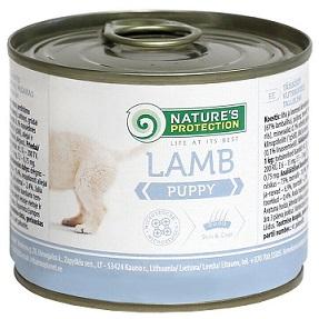 Nature s Protection Puppy Lamb Консервы для щенков купить