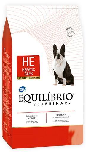 Лечебный сухой корм Equilibrio Veterinary Dog Hepatic