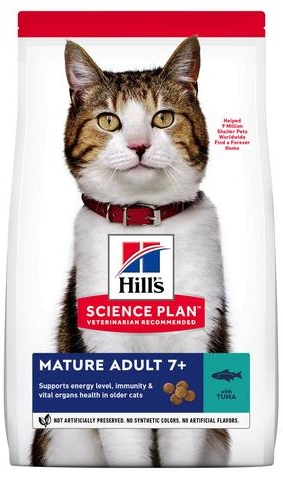 Сухой корм Hills (Хиллс) SP Mature Adult 7+ Tuna