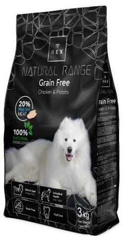 Корм для собак Rex Natural Range Grain Free Adult Chicken & Potato