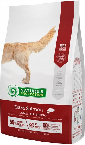 Корм для собак Nature s Protection Extra Salmon купить
