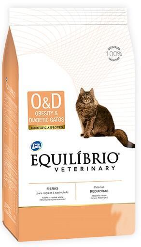 Лечебный сухой корм Equilibrio Veterinary Cat Obesity & Diabetic
