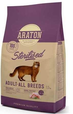Сухой корм Araton (Аратон) Sterilised Adult All Breeds