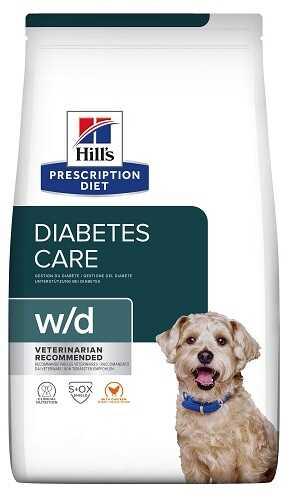 Hills W/D Корм для собак при сахарном диабете и ожирении купить