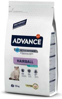 Сухой корм Advance Cat Sterilized Hairball