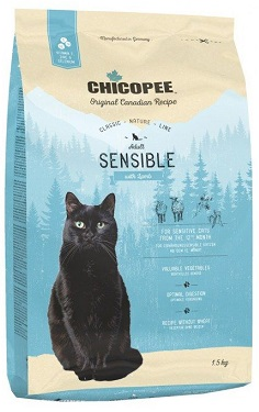 Сухой корм Chicopee CNL Adult Sensible Lamb