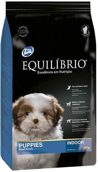 Сухой корм Equilibrio Puppies Small Breeds Indoor