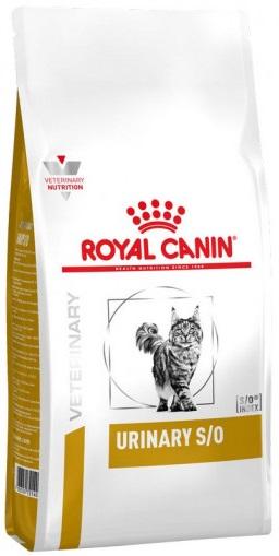 Лечебный сухой корм Royal Canin Urinary S/O Feline