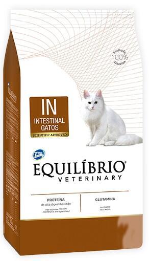 Лечебный сухой корм Equilibrio Veterinary Cat Intestinal