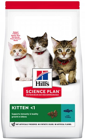 Сухой корм Hills (Хиллс) SP Kitten Tuna