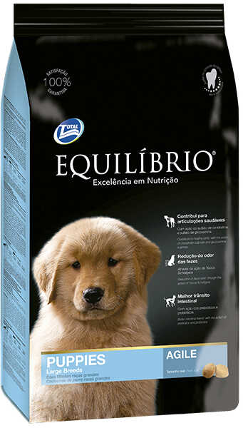 Сухой корм Equilibrio Puppies Large Breeds Agile