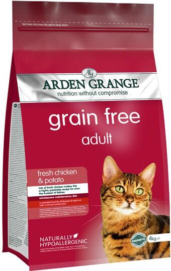 Сухой корм Arden Grange (Арден Гранж) Chicken & Potato
