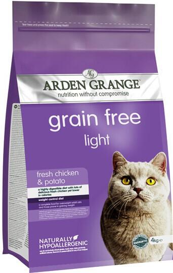 Сухой корм Arden Grange (Арден Грандж) Adult Light Fresh Chicken & Potato