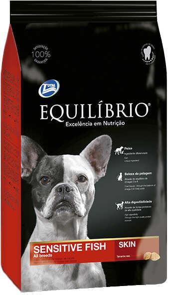 Сухой корм Equilibrio Dog Adult Sensitive Fish Skin