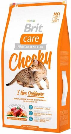 Сухой корм Brit Care (Брит Кеа) Cat Cheeky I am Living Outdoor