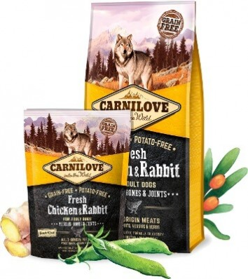 Беззерновой корм Carnilove для собак