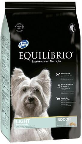 Сухой корм Equilibrio Dog Light Small Breeds Indoor