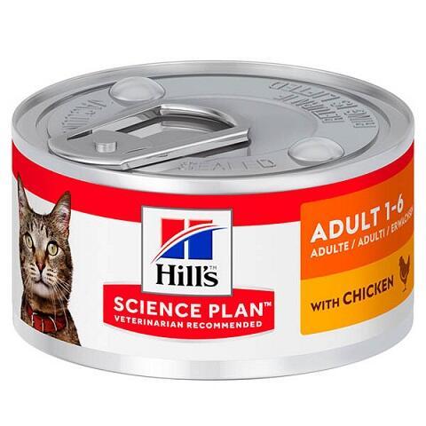 Hills (Хиллс) Adult Chicken Влажный корм для кошек купить