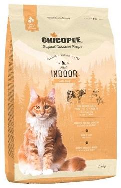 Сухой корм Chicopee CNL Adult Indoor Beef