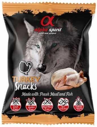 Лакомство для собак Alpha Spirit (Альфа Спирит) Snacks Turkey купить