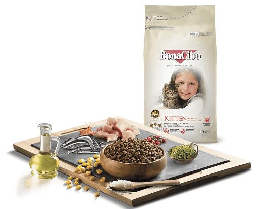 Сухой корм BonaCiboKitten Chicken & Rice with Anchovy