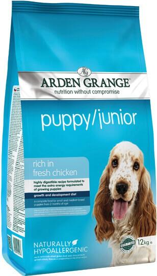 Сухой корм Arden Grange (Арден Гранж) Puppy Junior