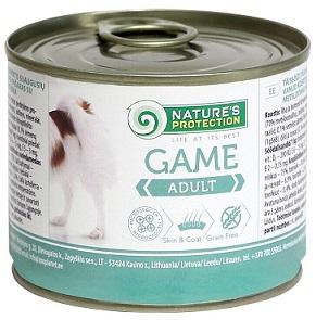Nature s Protection Консервы для собак Adult Game купить