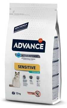 Сухой корм Advance Cat Sterilized Salmon Sensitive