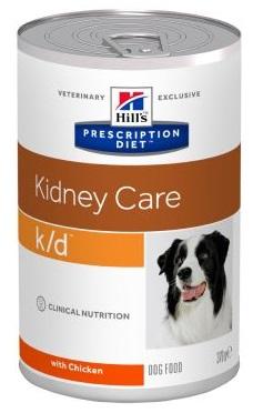 Hills (Хиллс) K/D Лечебные консервы для собак купить в Киеве и Украине