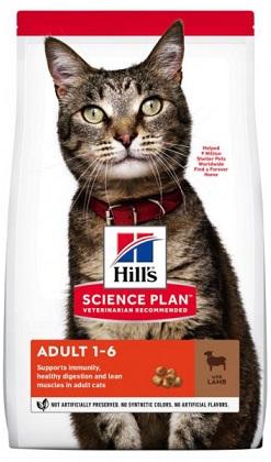 Сухой корм Hills (Хиллс) SP Feline Adult Lamb