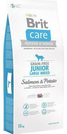 Сухой корм Brit Care (Брит Каре) Junior Large Breed Salmon Potato