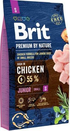 Сухой корм Brit Premium (Брит Премиум) Dog Junior S