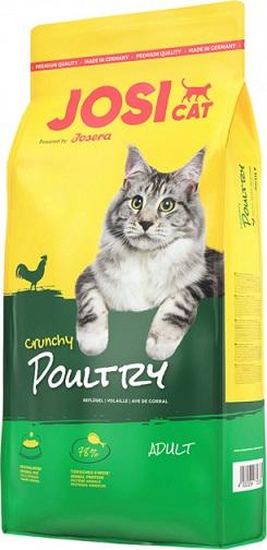 Сухой корм JosiCat Crunchy Poultry