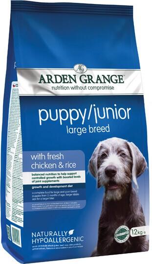 Сухий корм Arden Grange (Арден Гранж) Puppy Junior Large Breed